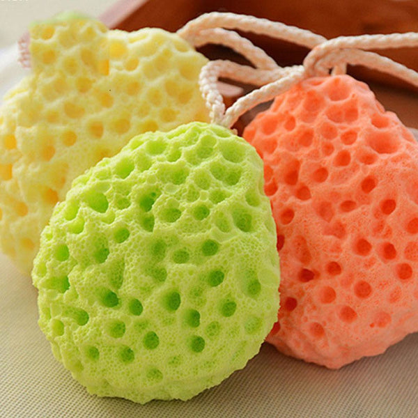 Baby Bath Sponge Soft Foam Scrubber Natural Sponge for Bathing, Shower Scrubber Body Sponge for Kids/Babies/Men/Women