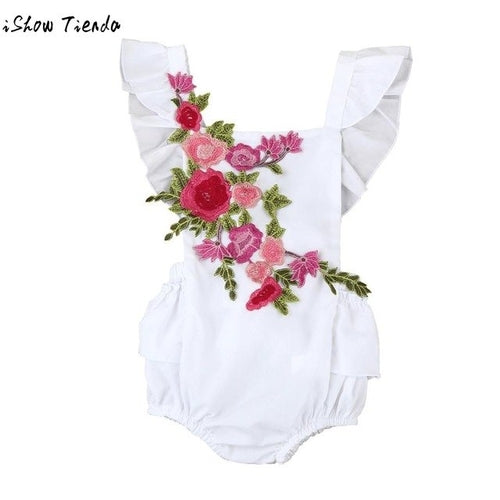 Baby Girl Bodysuits Toddler Infant Baby Summer