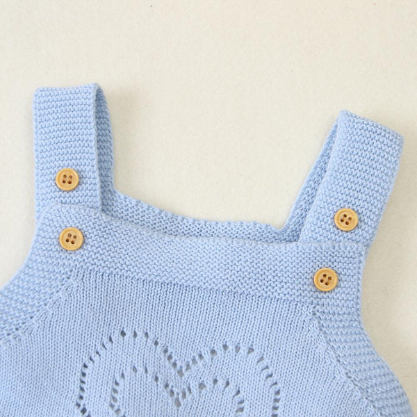 Bunny Knitted Romper
