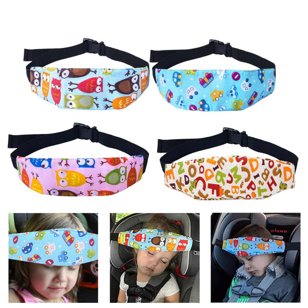 Safety Baby Head Support Holder Sleep Belt Adjustable Safety Car Seat Kids Nap Aid Band Support Holder Belt