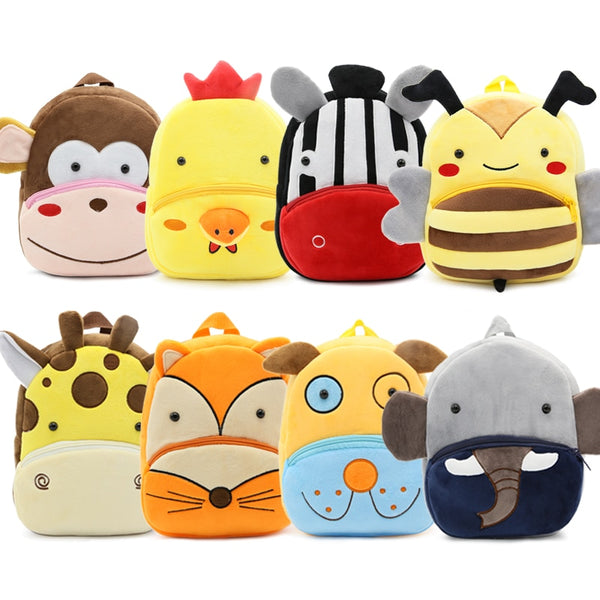 Baby Toddler School Bags Backpack Kindergarten Schoolbag for Girls Boys 3D Cartoon Animal Backpack
