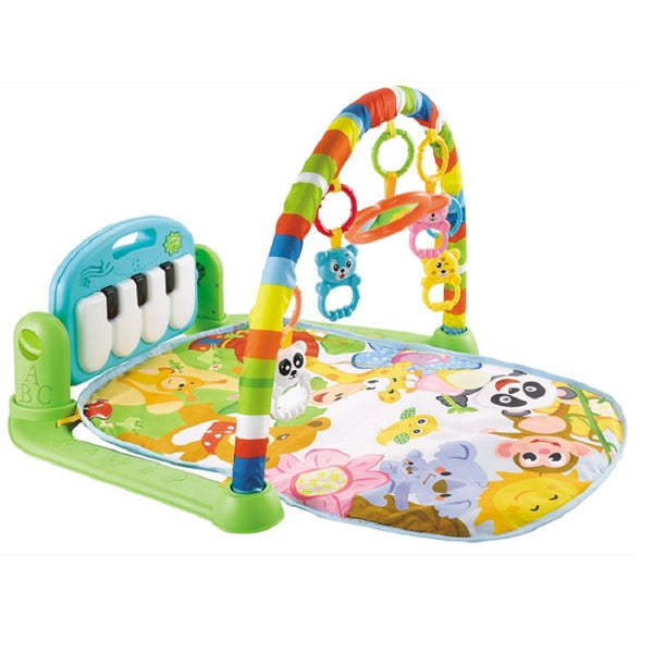 Baby Music Rack Play Mat Kid Rug Puzzle Carpet Piano Infant Playmat Early Education Gym Crawling Game Pad Toy 0-6-8-12 months