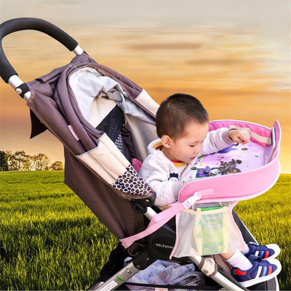 Car Seat Portable Baby Table ,Travel Tray, Toddler Car Seat Lap Tray