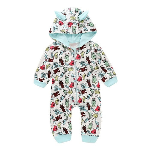 Infant Rompers Baby Girls Boys Cartoon 3D