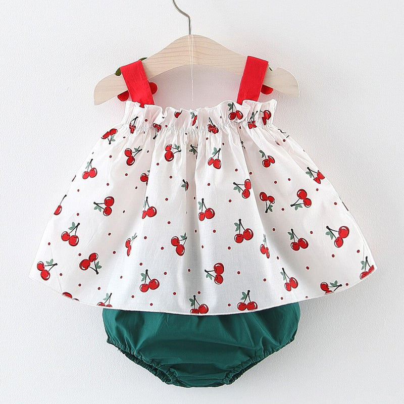 baby girl clothes 2pcs sets Newborn Kids