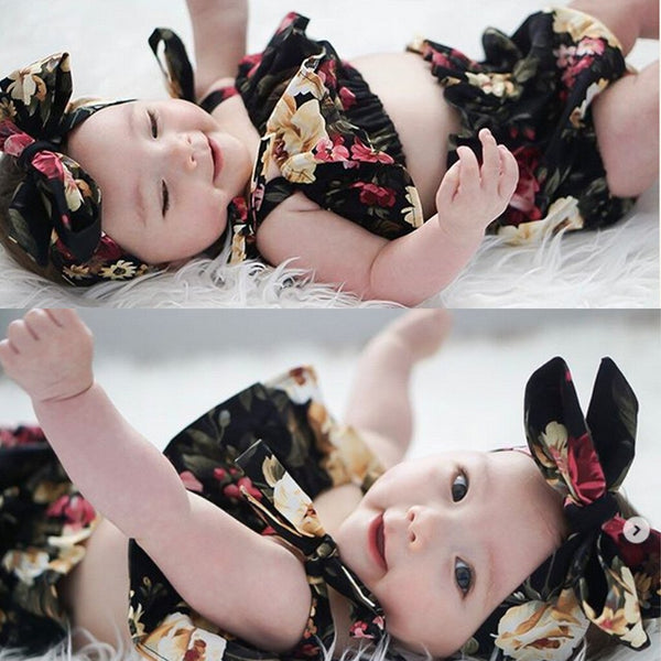 toddler girl clothes 3pcs Sets Infant Baby