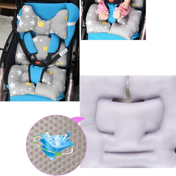 Stroller Baby Pillow Case Warm Cotton Thick Car