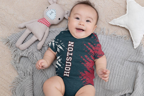 Houston Football Onesie