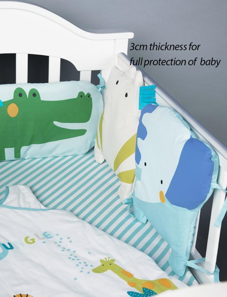 Newborn Baby Bed Bumper INS All Size Cotton Crib Baby Cot Protector