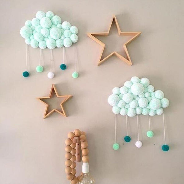 Soft Wool Balls Kids Room Decoration