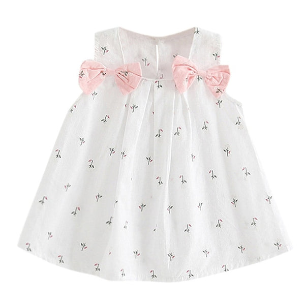 Summer New Fashion Toddler Kid Baby Girls Flower Print Princess Party Performance Formal Tutu Dress Wholesale Free Ship Z5