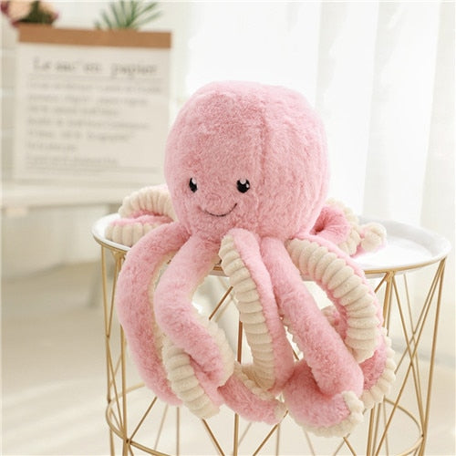 18cm Octopus Plush Doll,Stuffed Animal Octopus Education Play Toys Plush Pillow for Kids Girl Boy Birthday Xmas Gift Present