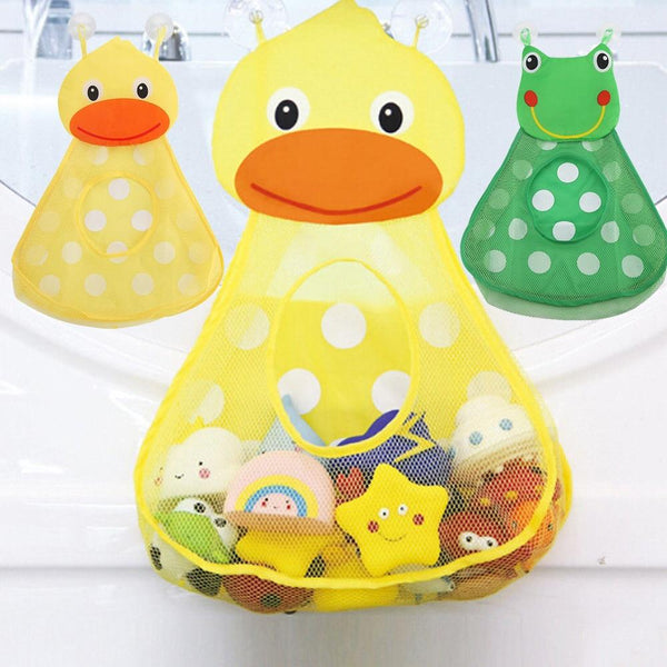 Baby Shower Bath Toys Cute Storage Mesh