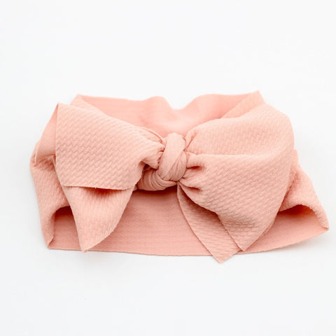 Big Bow Knot Headwrap Turban