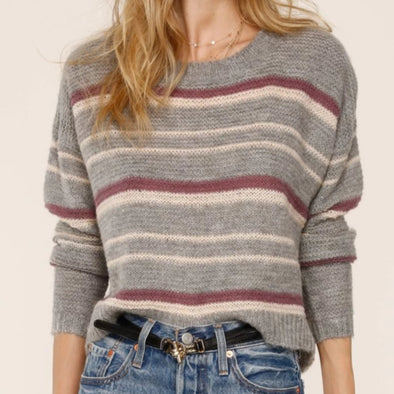 Heartloom Maya Sweater - Heather Gray