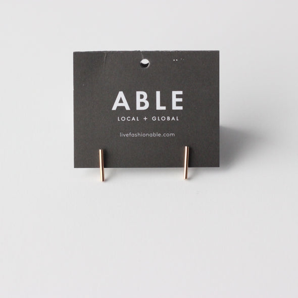 Able Stick Earrings