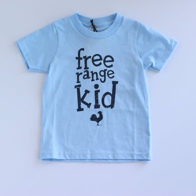 Locally Grown Kids Free Range - Light Blue