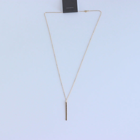 Able Fin Necklace - Gold