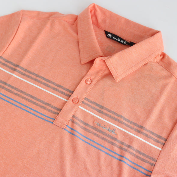 Travis Mathew DHM Polo - Heather Perisimmon