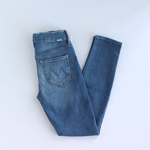 Mother Denim Looker Ankle - Hop on Hop off