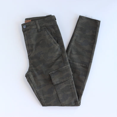 Joe's Jeans The Charlie Ankle Cargo - Green Camo