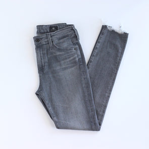 AG Farrah Skinny Ankle - Gray Light