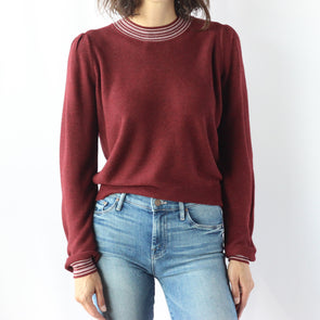 Heartloom Wren Sweater - Merlot