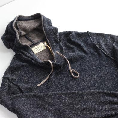 The Normal Brand Jimmy Sweater Hoodie - Navy