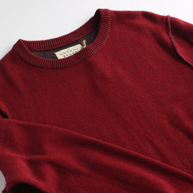 The Normal Brand Jimmy Sweater - Red