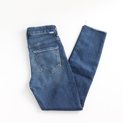 Mother Denim High Waisted Looker - Night Clubbing