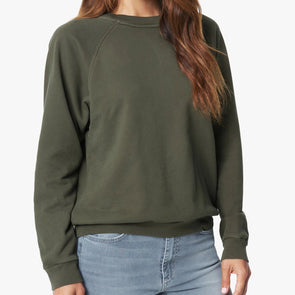 Joe's Jeans Braided Sweatshirt - Olive