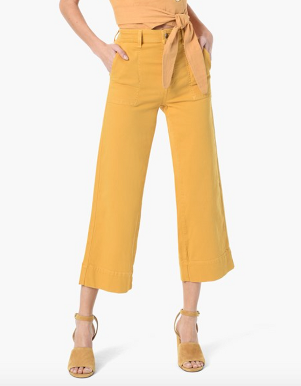 Joe's Jeans The Trouser Crop - Sunbeam