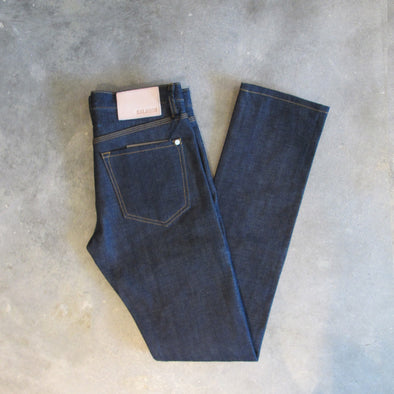 Baldwin Denim Henley - Dry Selvedge