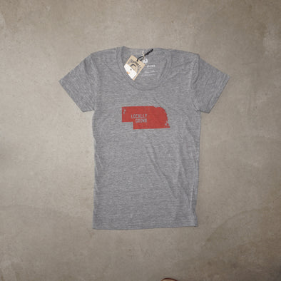 Locally Grown W Nebraska Solid State - Heather Grey