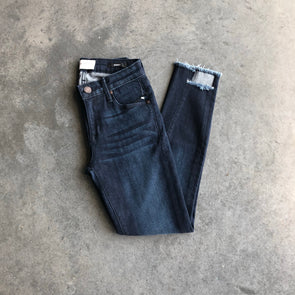 Parker Smith Twisted Seam Skinny - Blue Steel