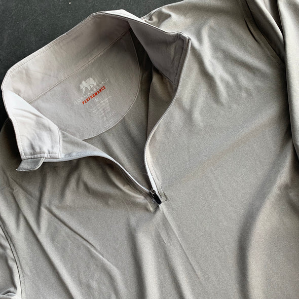 The Normal Brand Performance Quarterzip - Grey