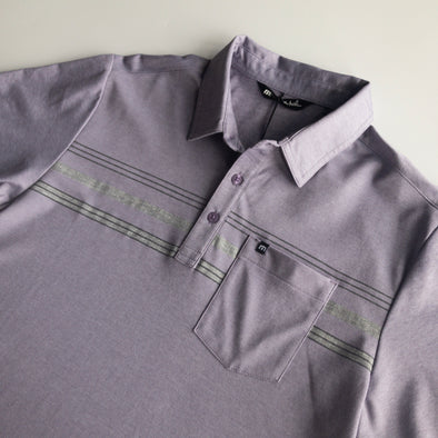 Travis Mathew Brownie Polo - Heather Cadet