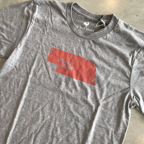 Locally Grown Nebraska Solid State - Vintage Grey