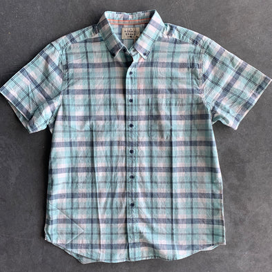 The Normal Brand Louis Button Down - Teal
