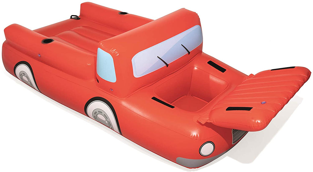 Bestway inflatable Car- CoolerZ Big Red Truck, 280 x 149 cm - BestwayEgypt