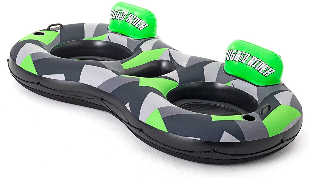 Bestway Hydro-Force Rugged Rider II Double River Tube swimming floating tube 2.51 m x 1.32 m - BestwayEgypt