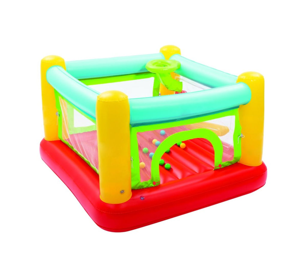 BW® Jumptacular Bouncer + 25 BALL 1.75m x 1.73m x 1.14m - BestwayEgypt