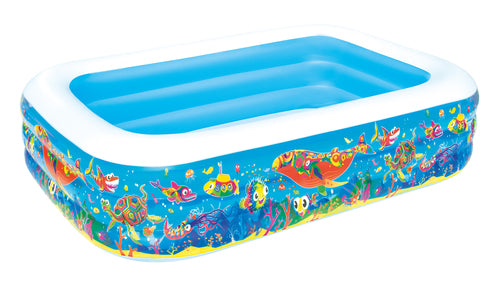 Bestway Inflatable Family Play Pool 2.29m x 1.52m x 56cm - BestwayEgypt