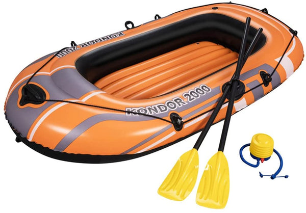 ORANGE BOAT INFLATABLE KONDOR 2000 188X98X30CM - BestwayEgypt
