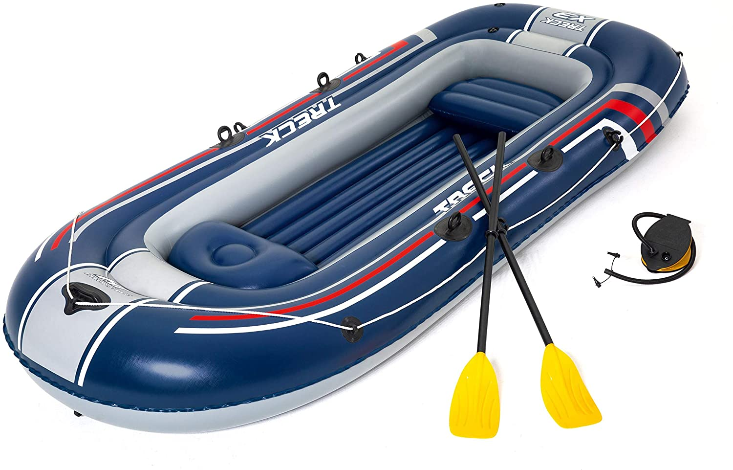 Bestway Hydro-Force Treck X3 Inflatable Boat Set, Rubber raft. - BestwayEgypt