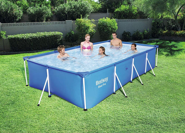 Steel Pro 4.00m x 2.11m x 81cm Pool Set - BestwayEgypt