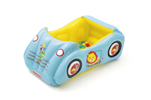 Fisher Price Inflatable Sports Car -25 balls - 119x79x51 cm - BestwayEgypt