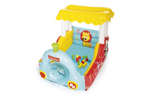 Bestway Fisher-Price Train Ball Pit, Inflatable Kids Play Centre - BestwayEgypt