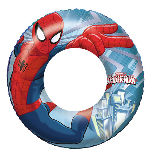 Bestway Spiderman Inflatable Swim Ring 56cm - BestwayEgypt