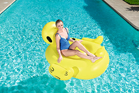 Bestway 1.86m x 1.27m Supersized Duck Rider - BestwayEgypt